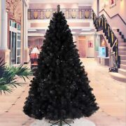 Black Christmas Tree Pvc Metal Ornaments For Holiday Decoration Hotel Home Decor