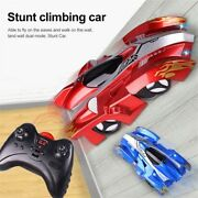 Children Childs Kids Racing Wall Climbing Remote Control Cars Electric Xmas Gift