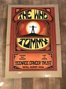 The Who Tommy Teenage Cancer Trust Official Concert Rah Print 60 X 42cm 2017