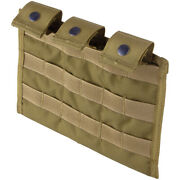 Flyye Army Triple Range Magazine Ammo Pouch Ver. Mi Molle Coyote Brown