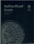 Mostly Good, Indian Head Cent Collection. 1857 - 1909. Minus 2 Coins