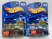 Hot Wheels Collector 186 Wheel Loader Black/red Lot Of 2 1/64 Free Shipping