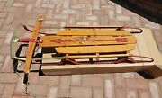 Flexible Flyer 44 Sled Vintage 1960's Ship Or Local Pick Up Item Avail.
