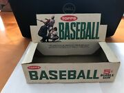 1964 Topps Baseball Cards Empty 5-cent Wax Pack Display Box 1