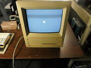 Vintage Apple Macintosh Se With Keyboard, Custom Padded Case And Misc Software
