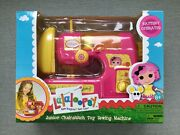 Lalaloopsy Sewing Machine Toy Junior Chainstitch 8+ Battery Operated