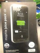 Mophie Juice Pack Air For Apple Iphone 4 4s Charger Battery Case - Black Oem