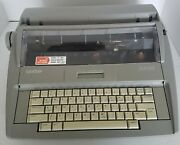 Brother Sx-4000 Electronic Typewriter W/lcd Display Tested Vintage