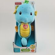 Fisher-price Soothe And Glow Seahorse, Blue. Develope Security And Sensory. New
