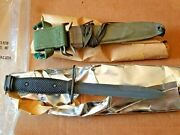 Boc Imperial Nos Us M7 Bayo Knife And M8a1 Scabbard Vietnam Era Sealed Mint