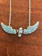 Navajo Eagle Necklace Turquoise Ben Livingston Native American Stunning Zuni A