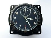 Antique Ww2 Smith And Sons Mk Iii Air Ministry Raf Aircraft Cockpit Swiss Clock ✈