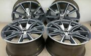 Ford Mustang 19andrdquo Oem Machined Charcoal Wheels Part 10035