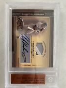 2004 Playoff Prime Cuts Material Signature Jersey Auto Rickey Henderson 5/5