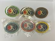 Lot Of 6 Frederick Md Dist 2 Little League Pin Efll Home 9-10 2003 State Tourney