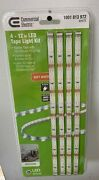 4 Strip 12 In. - Commercial Electric Linkable Indoor Led Flexible Tape Light Kit