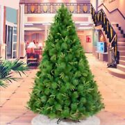 Mixed Christmas Tree Decorations Indoor 2.1m/2.4m Reinforcing Iron Foot Supplies