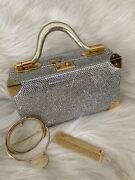 Judith Leiber Rare Vintage Train Case With Crystals1985.00