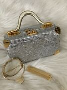 Judith Leiber Rare Vintage Train Case With Crystals1,985.00