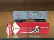 American Flyer S Scale Hard To Find 24419 Canadian National Box Car Ex+ To Ln Ob