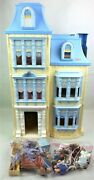 Fisher Price Loving Family Sweet Sounds Dollhouse + 3 Working Figs + Furniture