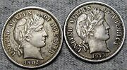 1902 1913 Barber Dime Silver Lot ---- Nice Coin Lot ---- M623
