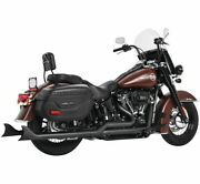 Sharktail Signature True Dual System For Softail Models Hd00770