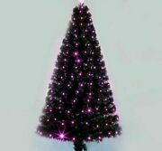 Led Light Fibers Christmas Tree Mouldproof Indoor Holiday Decorations 1.8m Trees