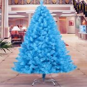 Blue Christmas Tree New Year Reinforced Metal Frame Decoration Indoor Trees 1.8m