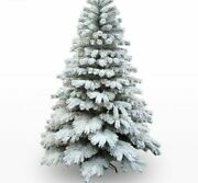 White Snow Christmas Tree Mall Home Restaurant Holiday Festive Decoration Supply