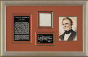 Charles Babbage - Autograph Letter Signed 6/11