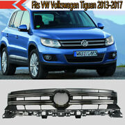 Fits Vw Volkswagen Tiguan 2013-2017 Chrome Trim Front Grille Grill 5nd853651b