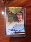 Rittenhouse Archives Autographed George Takei Card