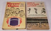 Vintage Football Great Tales Of The Gridiron And How To Punt Pass And Kick For Boys