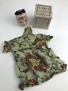 Antique Y-do-i Cole-ackerman Co Oriental Asian Hand Puppet