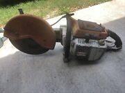 Stihl Ts 760 Concrete Saw Parts Or Repair Only Does Not Run. 16andrdquo