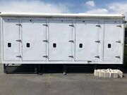Outdoor Storage Box / Container/ With Thermo King Refrigerator/freezer 14 Foot