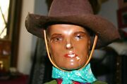 Antique 1938 Lone Ranger Doll 19 Inch High On Horse 28 Inches Original
