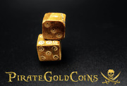Bone Dice Roman Empire 2nd-4th Century Ad Ancient Artifact Pirate Gold Coins