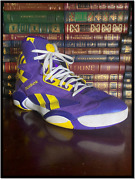 La Lakers Reebok Pump ✎signed🏀 By Shaquille Oand039neal Game Worn Shoe Soles 4 Souls