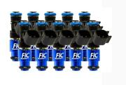 Fuel Injector Clinic 1650cc Fuel Injector Set High-z For Fic Bmw E60 V10