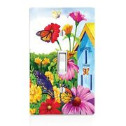 Butterfly House Switch Cover Home Dandeacutecor Night Light Cabinet Knob Bedroom