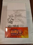 Naruto Lineage Of The Legends Blister/booster Box Factory Sealed 15 Blisters 🔥