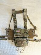 Spiritus Systems Micro Fight Mk4 Chest Rig Bundle + Half Flap + Thing 2 Multicam