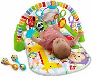 Fisher-price Deluxe Kick And Play Activity Center Musical Toy Piano Gym And Maracas