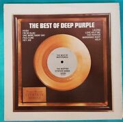 Disk 33 Rpm The Best Of Deep Purple The Scepter Quote Series 1972 Usa