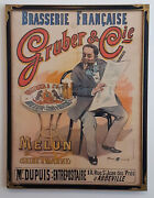 Original French Belle Epoque Poster Gruber And Cie. - Price Reduced