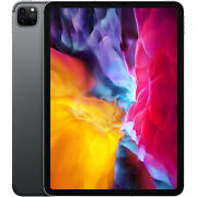 New Apple Ipad Pro 11and039and039 2nd Gen 2020 Grey 256gb Wifi+5g Factory Unlocked Gsm