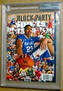 2012 Si Sports Illustrated March 19 Madness Anthony Davis Uk 1st Cover Rc Bgs U