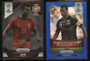 2014 World Cup Prizm Limited Edition And Blue Refractor 159 Nani Portugal Lot /7